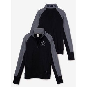 Victoria's Secret Pink Cowboys Ultimate Half Zip